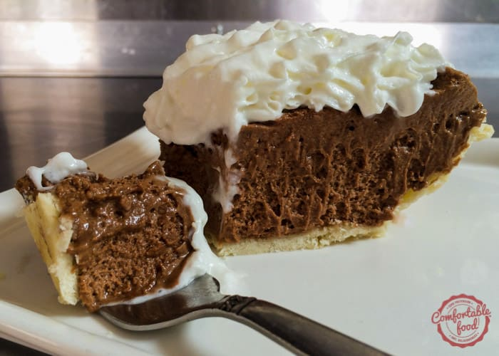 A recipe for very rich and creamy french silk chocolate pie.