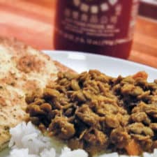 Curried lentals