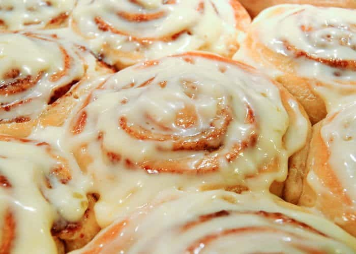 The ultimate cinnamon rolls from comfortable food.