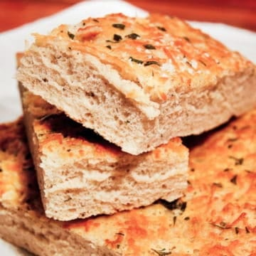 Foccacia Bread with Herbs