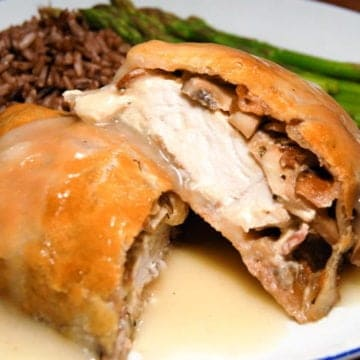 Chicken and Bacon Wellington Recipe from Comfortable Food.
