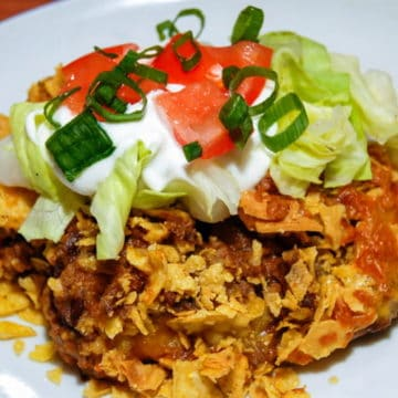 Crispy crunchy Mexican inspired deliciousness.