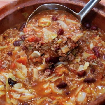 Beef and Cabbage Soup from Comfortable Food.