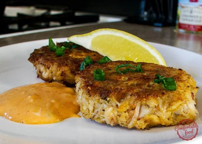 Super simple to make and so good - this is the best crab cake recipe ever.