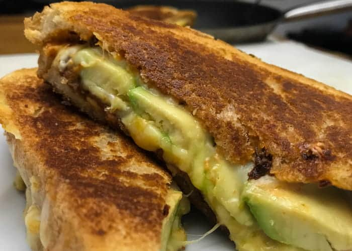 The ultimate grilled cheese sandwich with chipotle bacon and avocado website