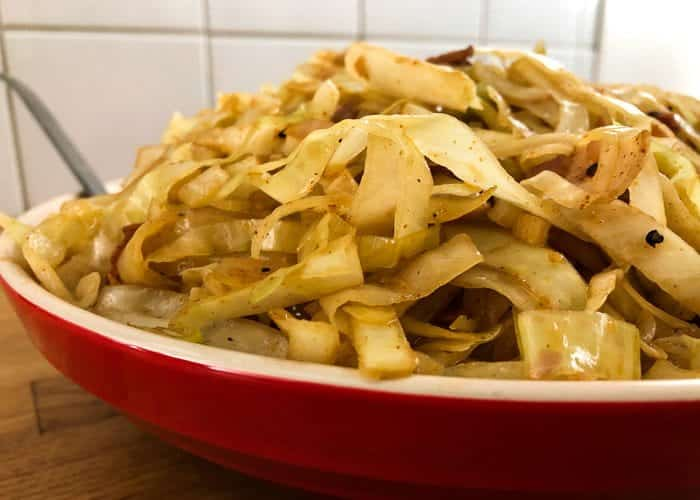 Southern style cabbage